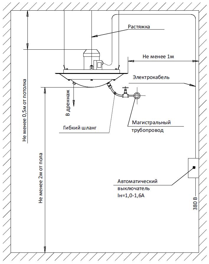 Увлажнитель воздуха АГ-1