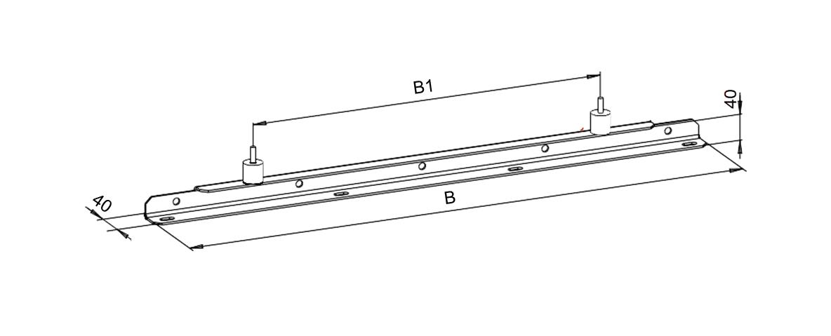 Монтажные опоры для вентиляторов ВРКК