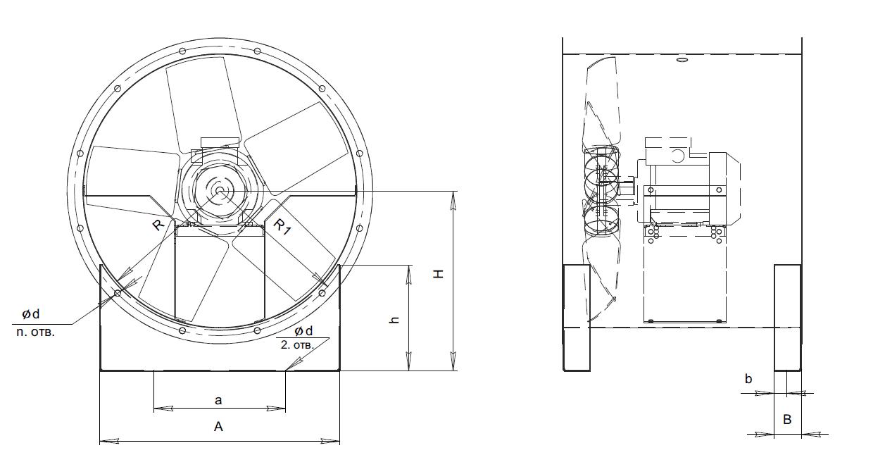 Монтажные опоры МО-25-188