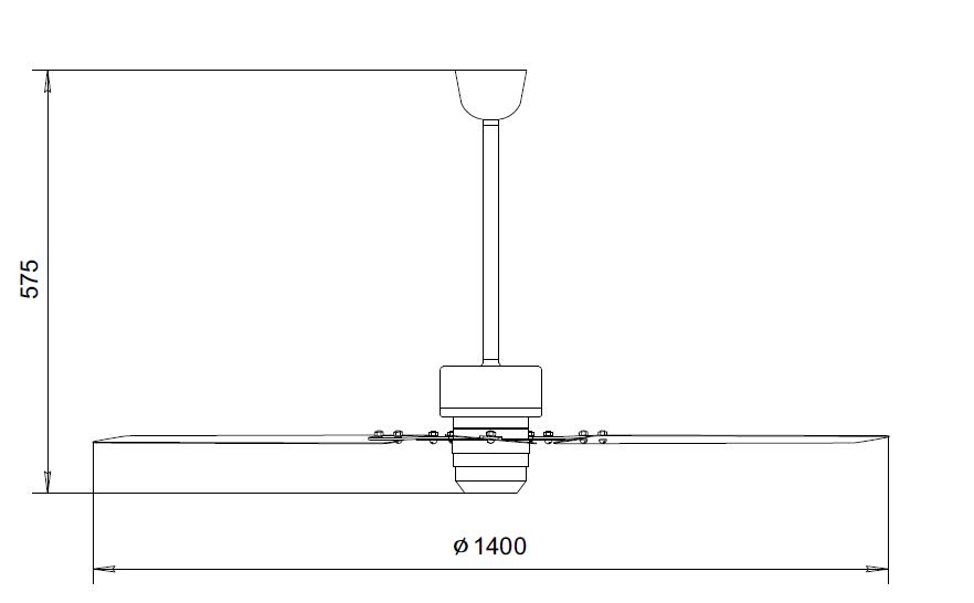 Вентиляторы потолочные МР-1