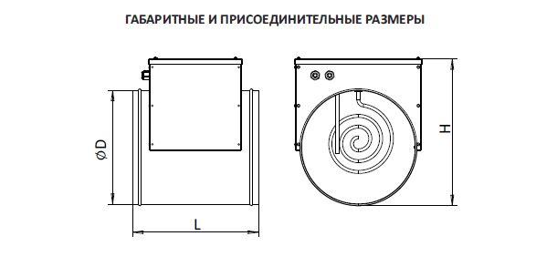 Нагреватель канальный электрический НКК-Э