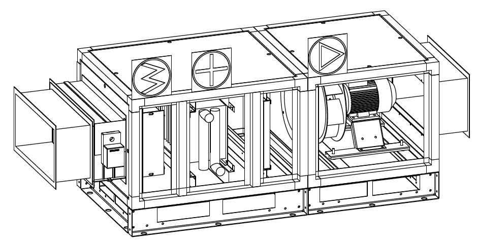Каркасно-панельные вентиляционные установки